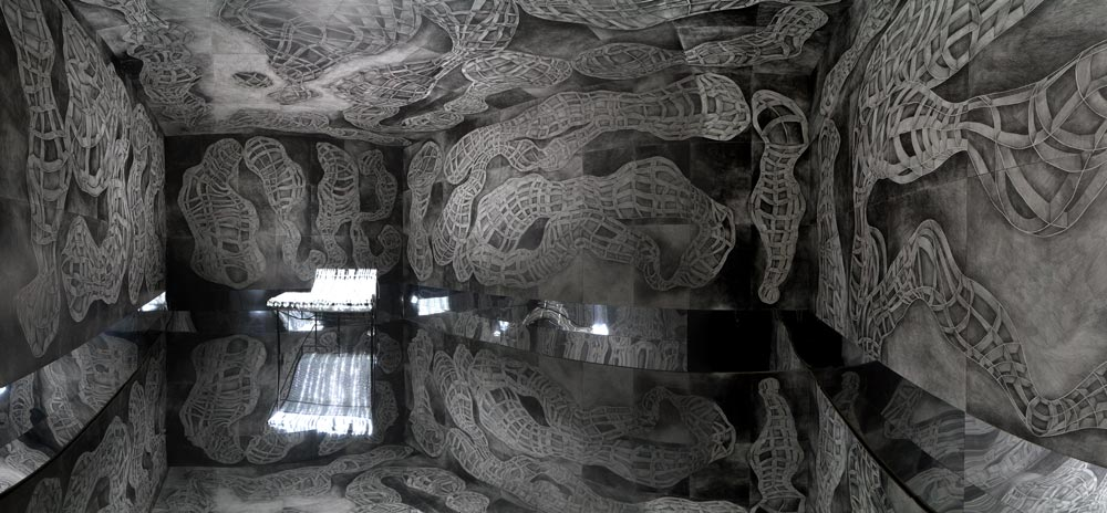 Kaaba Rauminstallation, 2013
