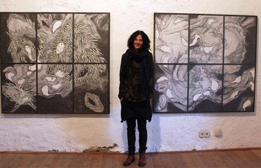 Reizvolle wie meisterhafte Kompositionen: Birgit Bachmann | Foto © Willi Rainer