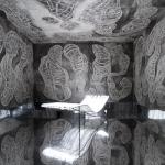 Kaaba – Rauminstallation von Birgit Bachmann