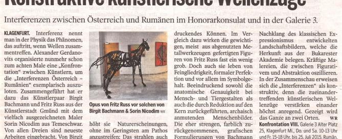 Kleine Zeitung, 1. Juli 2015
