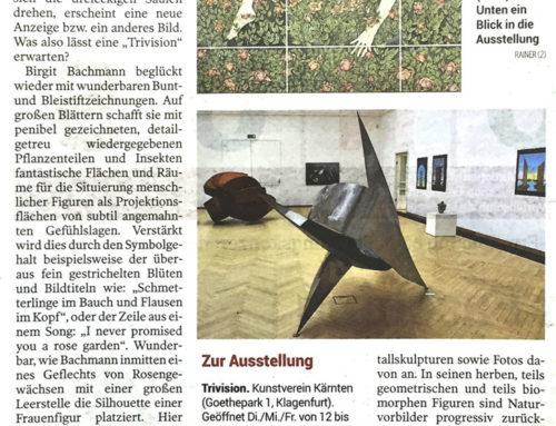 Trivision im Kunstverein Kärnten, Klagenfurt