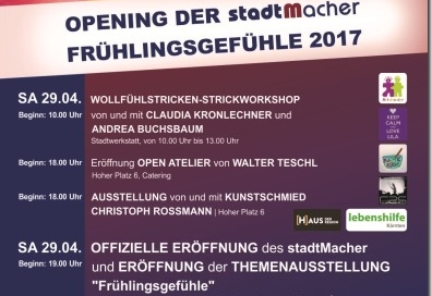 stadtMacher Fruehlingsgefuehle