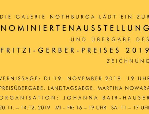 Nominiertenausstellung des Fritzi-Gerber-Preises 2019 Zeichnung